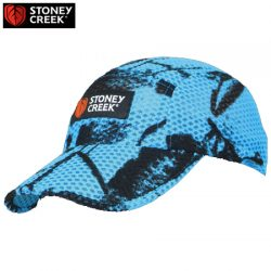 Stoney Creek Airmesh Split Peak Cap – Blaze Blue & Orange & RTXG Camo.