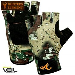 Hunters Element Hydrapel Fingerless Gloves.