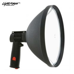 Lightforce Blitz 240mm 100W Hand Held Light With Alligator Clips.