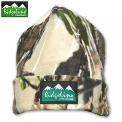 Ridgeline Double Layer Fleece Beanie.