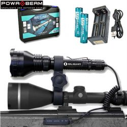Powa Beam Olight M2X LED Torch Hunters Kit.