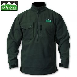 Ridgeline Igloo Long Sleeve Fleece Top.