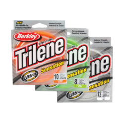 Berkley Trilene Sensation Fishing Line – Clear.