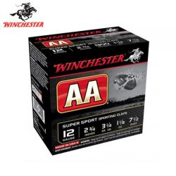 Winchester AA Super Sporting 12G 7.5 2-3/4″ 32gm