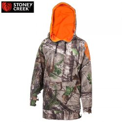 Stoney Creek Kids 365 Tech Hoodie Pullover – RTXG Camo.