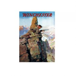 "Winchester Print – ""Hunting Big Horn Sheep""."