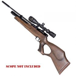 Weihrauch HW 100T .177 Air Rifle With Thumbhole Stock.