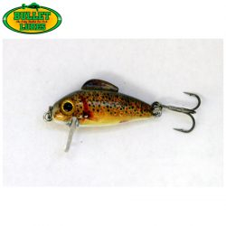 Bullet Lures 3cm Sinking Minnow – Natural.