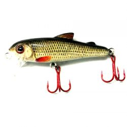 Bullet Lures 5cm Minnow – Rattle.