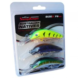 StumpJumper Lures – Yellow Belly Pack.