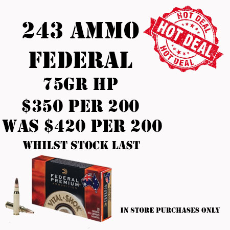 Federal Ammo Special