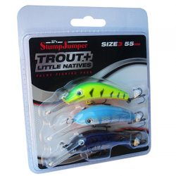 StumpJumper Lures – Trout Pack.