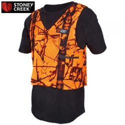 Stoney Creek Mesh Vest – Blaze Orange.