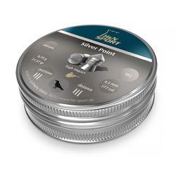 H&N Silver Point .177 Airgun Pellets.
