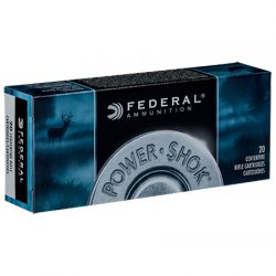 Federal .222 Rem. 50gr Soft Point Power-Shok.