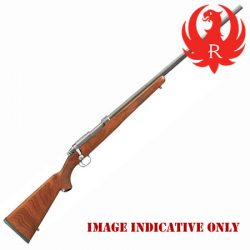 Ruger Varmint Walnut Stainless 77/17 17 WSM Rifle – April Run Out Sale.