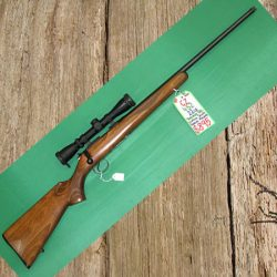 CZ 452 Special .22lr Threaded Barrel. Comes With Leupold Scope VX-1 2-7×33 And Warne Rings.