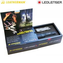 Ledlenser P7.2 & Sidekick Leatherman Combo Gift Box.