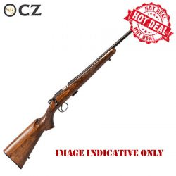 CZ 452 .22LR Rimfire Rifle Threaded Barrel – Hot Deal.