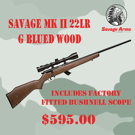 Savage MK II Wood