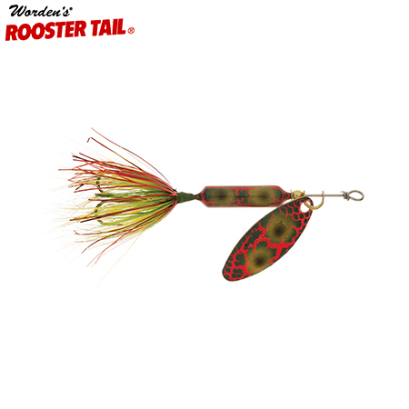 Wordens rooster tail original 1 4 7g lure elk 39 s for Rooster tail fishing lure