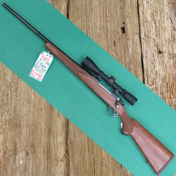 Ruger M77 270Win With Redfield 3-9-x-40-Scope, Left Hand Rifle.