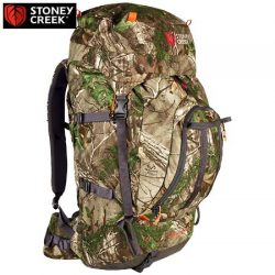 Stoney Creek Buller RTXG Camo Or Bayleaf 60 Ltr + 10 Ltr Multi Day Pack.