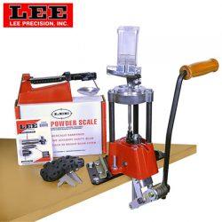 Lee Precision Value 4 Hole Turret Press Kit.