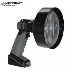 Lightforce Enforcer Hand Held 140mm Fresnel LED 3W Red / Infrared Spotlight.
