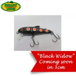 Bullet Lures 3cm Sinking Minnow – Painted Series.