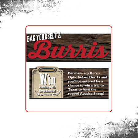 Bag Yourself A Burris Competition