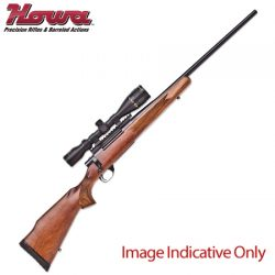 Howa 1500 Varmint Barrel, Nikkon Stirling Scope Package.