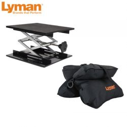 Lyman Match Bag & Bag Jack Combo Set.