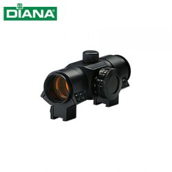 Diana Red Dot 1×30 5MOA Scope Including A Two Piece Mount.