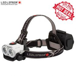 Ledlenser XEO 19R Headlamp – White / Rechargeable 2000 Lumens.