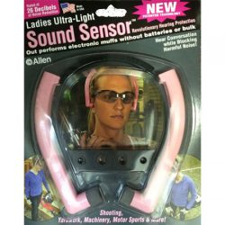 Allen Ladies Ultra Light Sound Sensor Hearing Protection.