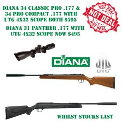 Diana Air Rifles Hot Deal.