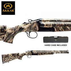 AKKAR 3 12G 20″ 3 Shot Camo Synthetic Extractors.