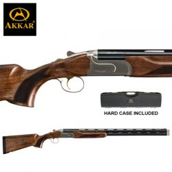 AKKAR Churchill 12G 20″ Sporter Ejector Left Hand.