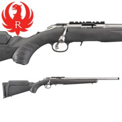 Ruger 17HMR American Rimfire Stainless.