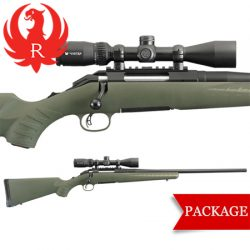Ruger American Predator .204 Ruger AR Style MAG 10 Shot Rifle & Scope Package.