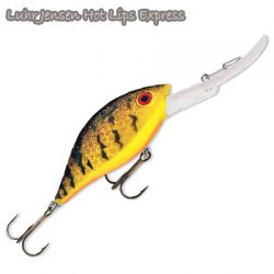 Hot Lips Express 1/4, 1/2 & 3/4 Lures.