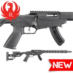 Ruger Precision Rimfire Rifle 22LR 18″ 15 Shot.