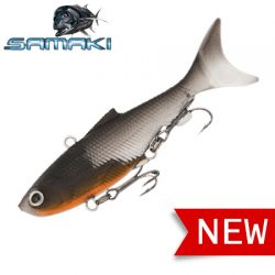Samaki Vibelicious Thumpertail 70mm 10.8gr Lure.