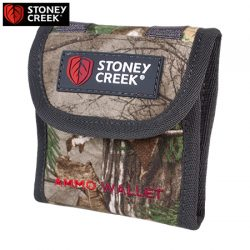 Stoney Creek Ammo Wallet – Bayleaf & Camo.
