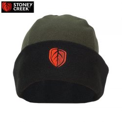 Stoney Creek Performance Plus Beanie – Bayleaf, Black & Blaze Blue.