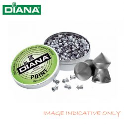 Diana Point Air Rifle Pellets – 500 Pack.