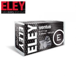 ELEY Ventus .177 4.49mm Air Pellets – 450 Pack.