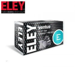 ELEY Ventus .177 4.50mm Air Pellets – 450 Pack.
