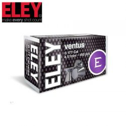 ELEY Ventus .177 4.51mm Air Pellets – 450 Pack.